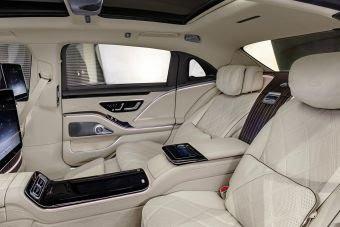 Mercedes maybach sièges massants